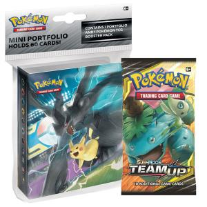 Pokémon, SM Team Up, Collector's album (Mini-pärm + 1 booster)