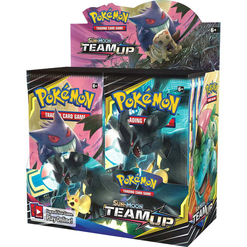Pokémon, SM Team Up, Display / Booster Box