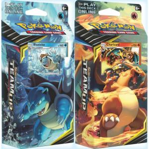 Pokémon, SM Team Up, Theme Deck x 2 (Blastoise + Charizard)