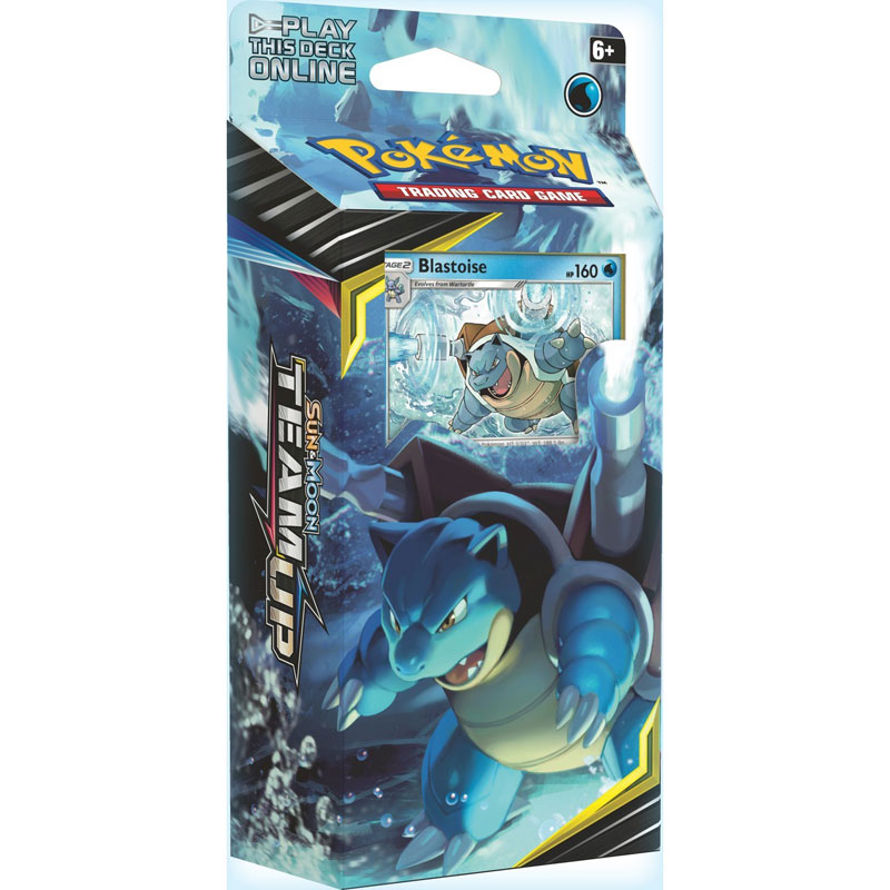 Pokémon, SM Team Up, Theme Deck: Blastoise