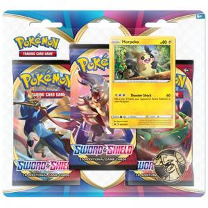Pokémon, Sword & Shield, Three Pack Blister: Morpeko