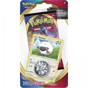 Pokémon, Sword & Shield, Checklane Blister Pack: Wooloo