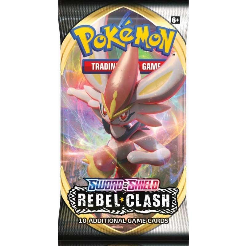 Pokémon, Sword & Shield 2: Rebel Clash, 1 Booster