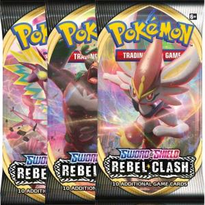 Pokémon, Sword & Shield 2: Rebel Clash, 3 Boosters