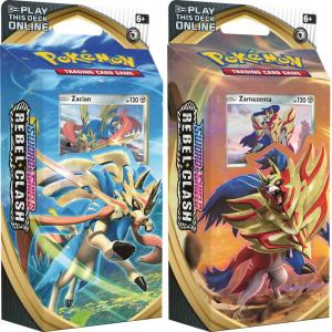 Pokémon, Sword & Shield 2: Rebel Clash, Theme Deck x 2 (Zamazenta + Zacian)