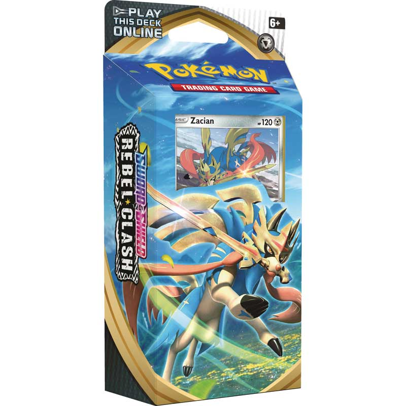 Pokémon, Sword & Shield 2: Rebel Clash, Theme Deck: Zacian