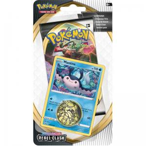 Pokémon, Sword & Shield 2: Rebel Clash, Checklane Blister Pack: Mantine