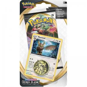 Pokémon, Sword & Shield 2: Rebel Clash, Checklane Blister Pack: Noctowl