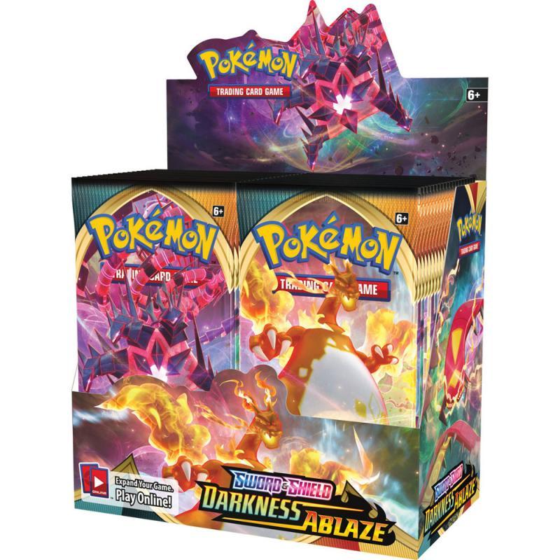 Pokémon, Sword & Shield 3: Darkness Ablaze, Display / Booster Box