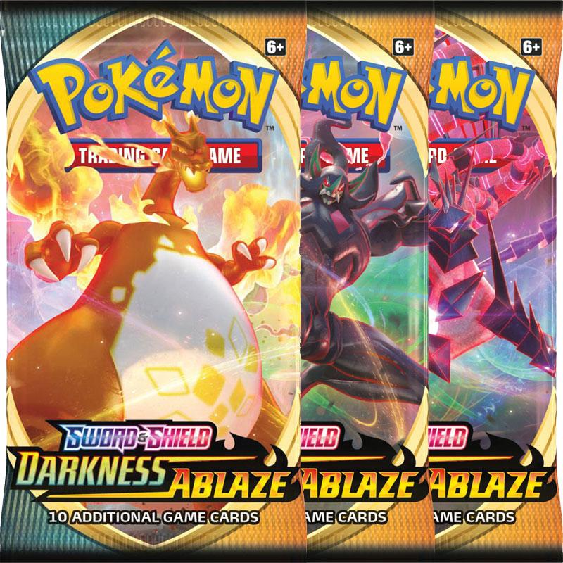 Pokémon, Sword & Shield 3: Darkness Ablaze, 3 Boosters