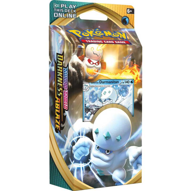 Pokémon, Sword & Shield 3: Darkness Ablaze, Theme Deck: Galarian Darmanitan