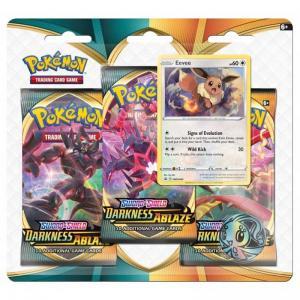 Pokémon, Sword & Shield 3: Darkness Ablaze, Three Pack Blister: Eevee