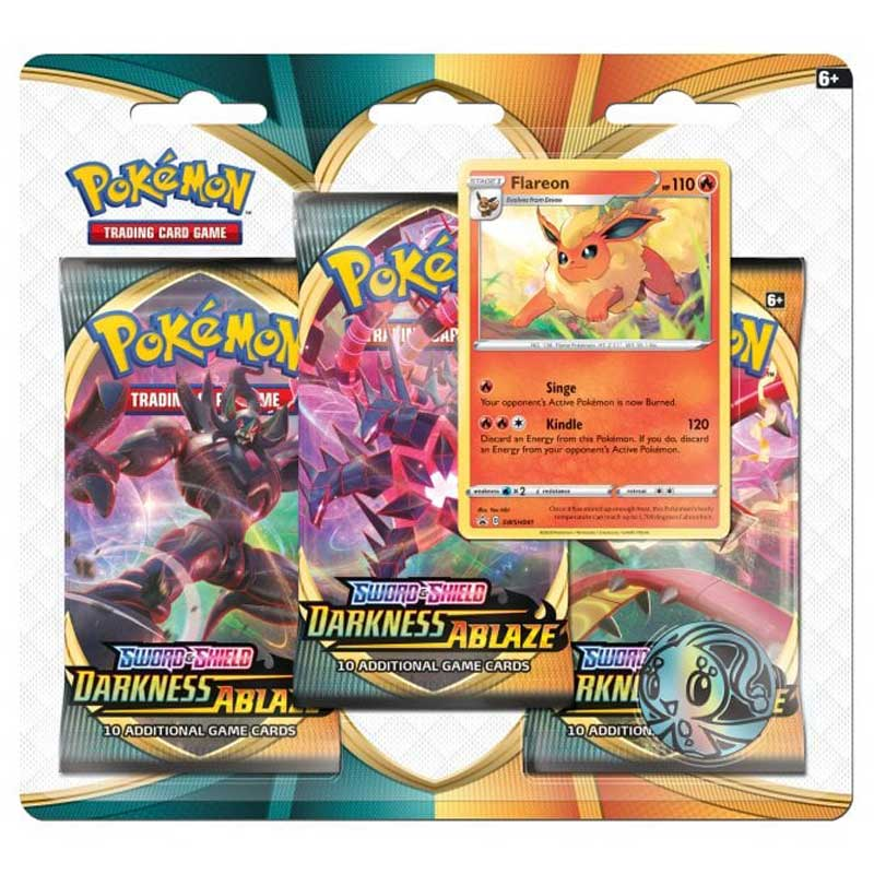 Pokémon, Sword & Shield 3: Darkness Ablaze, Trippelblister: Flareon