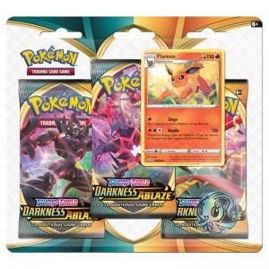 Pokémon, Sword & Shield 3: Darkness Ablaze, Three Pack Blister: Flareon