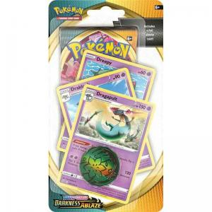 Pokémon, Sword & Shield 3: Darkness Ablaze, PREMIUM Checklane Blister Pack: Dragapult