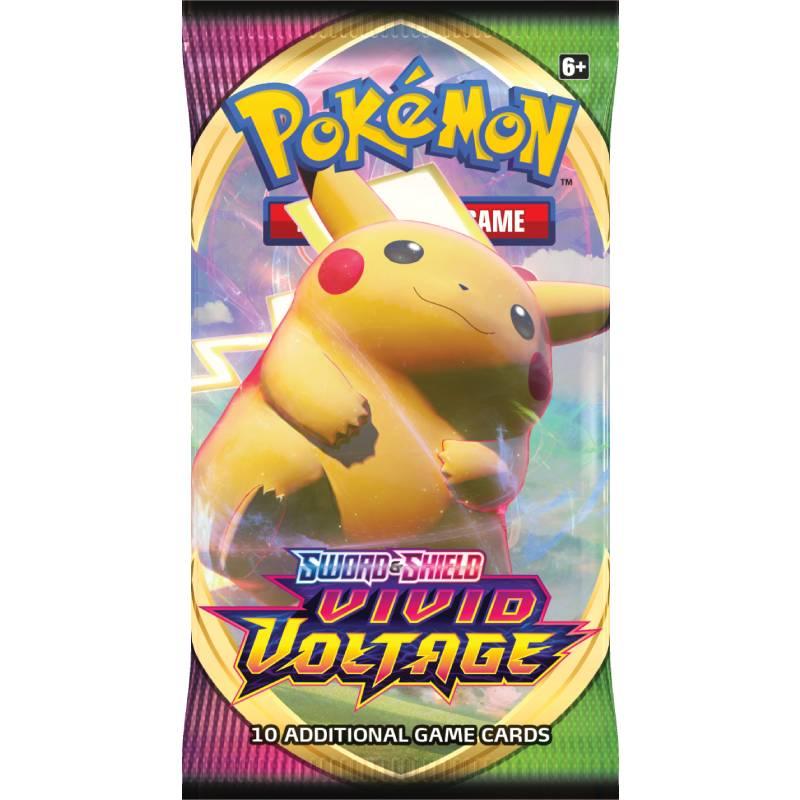 Pokémon, Sword & Shield 4: Vivid Voltage, 1 Booster