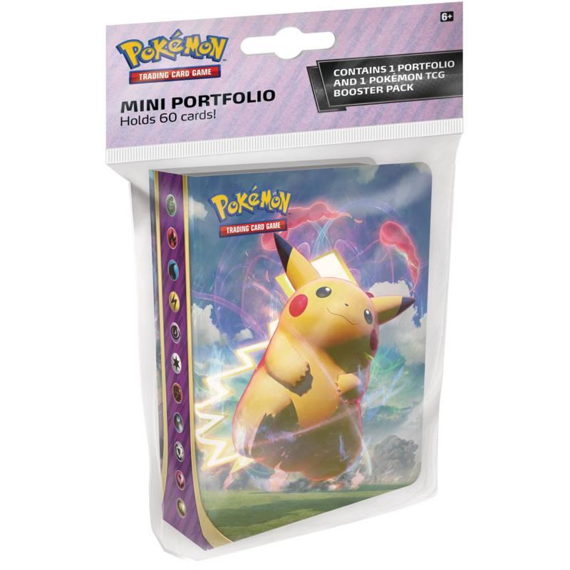 Pokémon, Sword & Shield 4: Vivid Voltage, Collector's album (Mini-pärm + 1 booster)