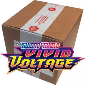 Pokémon, Sword & Shield 4: Vivid Voltage, Three Pack Blister x 24 (Totalt 72 Vivid Voltage boosters)