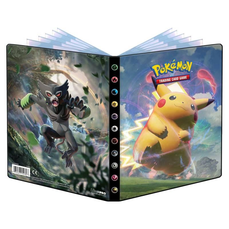 Pokémon, Sword & Shield 4: Vivid Voltage, Portfoliopärm A5 - 4 Pocket