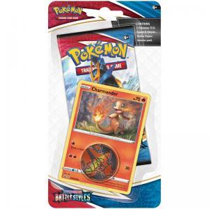 Pokémon, Sword & Shield 5: Battle Styles, Checklane Blister Pack: Charmander