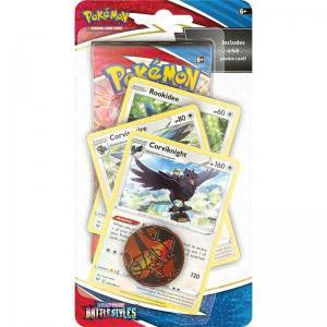 Pokémon, Sword & Shield 5: Battle Styles, PREMIUM Checklane Blister Pack: Corviknight