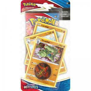 Pokémon, Sword & Shield 5: Battle Styles, PREMIUM Checklane Blister Pack: Tyranitar