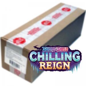 FÖRKÖP: Pokémon, Sword & Shield 6: Chilling Reign, Hel Case (6 booster boxar) (Preliminär release 18:e juni 2021)