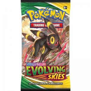 Pokémon, Sword & Shield 7: Evolving Skies, 1 Booster