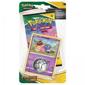 Pokémon, Sword & Shield 7: Evolving Skies, Checklane Blister Pack: Galarian Slowpoke
