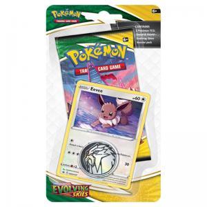 Pokémon, Sword & Shield 7: Evolving Skies, Checklane Blister Pack: Eevee
