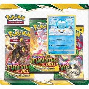 Pokémon, Sword & Shield 7: Evolving Skies, Three Pack Blister: Eiscue