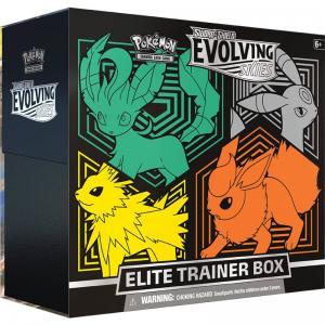 [MAX 1 PER HUSHÅLL] Pokémon, Sword & Shield 7: Evolving Skies, Elite Trainer Box (Green/Orange)