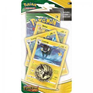 Pokémon, Sword & Shield 7: Evolving Skies, PREMIUM Checklane Blister Pack: Luxray
