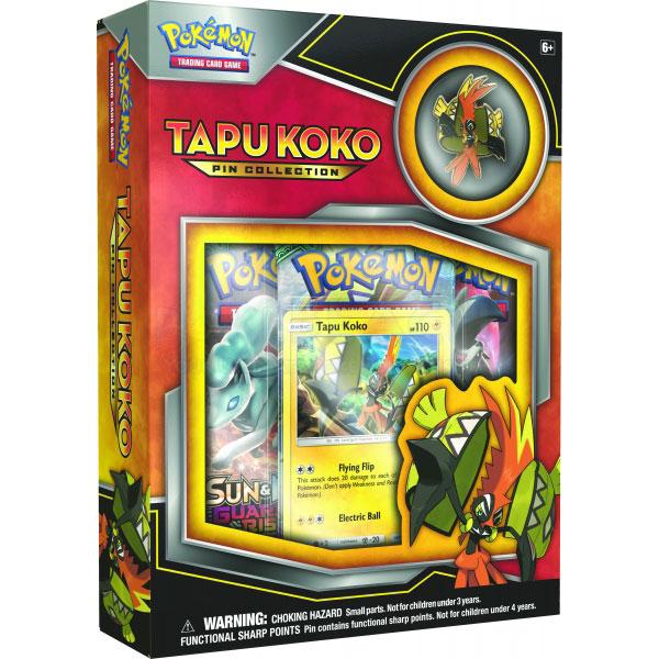 Pokémon, Tapu Koko Pin Collection
