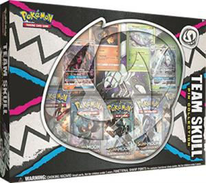 Pokémon, Team Skull Pin Collection Featuring Golisopod-GX & Salazzle-GX