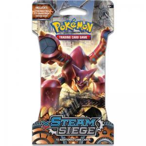 Pokemon, XY Steam Siege, 1 Sleeved Booster [Random art på sleeven]