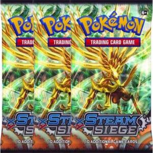 Pokemon, XY Steam Siege, 3 Boosters