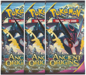 Pokemon, XY Ancient Origins, 3 Booster