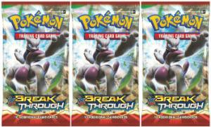 Pokemon, XY BREAKthrough, 3 Booster