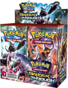 Pokemon, XY BREAKthrough, Display / Booster Box (36 booster)