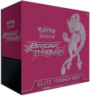 Pokemon, XY BREAKthrough, Elite Trainer Box - Mega Mewtwo Y (Röd)