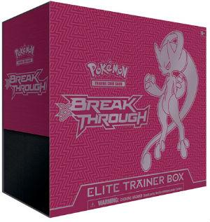 Pokemon, XY BREAKthrough, Elite Trainer Box - Mega Mewtwo Y (Röd)