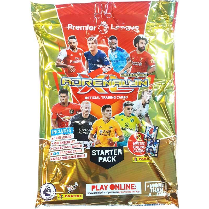 1 Starter Pack Panini Adrenalyn XL Premier League 2019-20