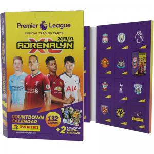 Adventskalender / Countdown Calendar Panini Adrenalyn XL Premier League 2020-21