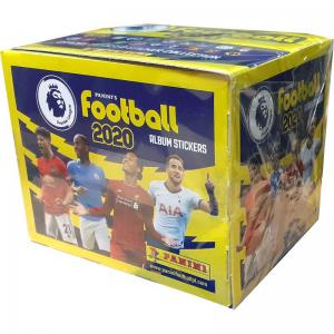 Box (50 Paket), Panini Football Premier League 2020 (Klisterbilder)