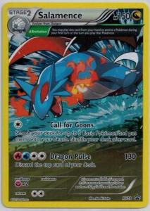 Pokémon, Pokemon Promo Cards, Salamence - XY59 - Full Art Promo