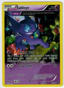 Pokémon, Pokemon Promo Cards, Sableye - XY92 - Full Art Promo