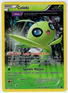 Pokémon, Pokemon Promo Cards, Celebi - XY93 - Full Art Promo