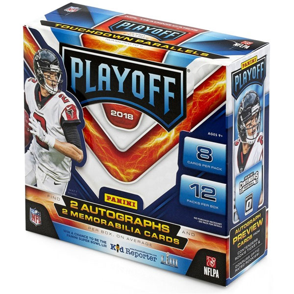 Hel Box 2018 Panini Playoff Football
