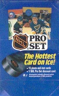 Sealed Box 1990-91 Pro Set Serie 1